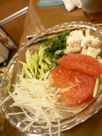 2010年7月29日夕食
