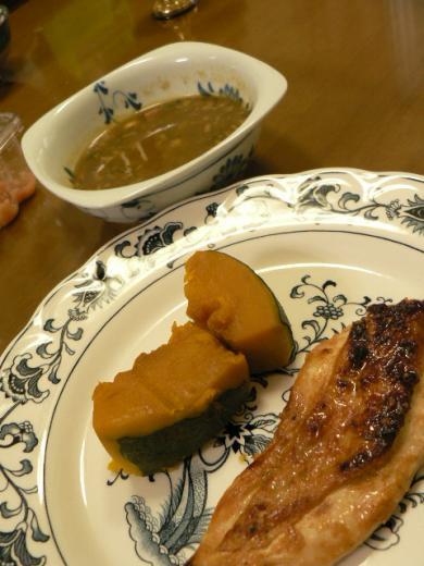 2010年8月3日夕食