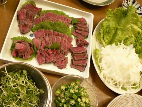 2010年8月4日夕食