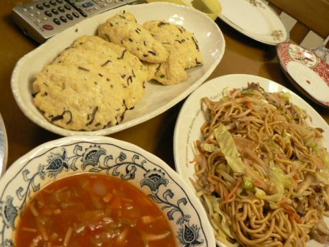 2010年8月6日夕食
