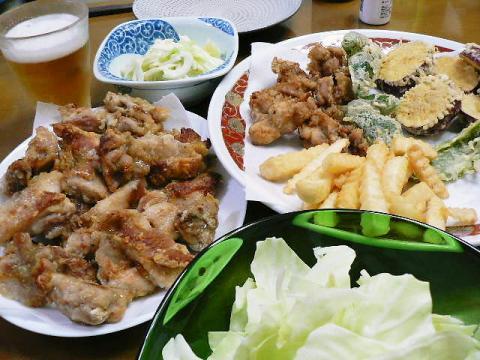 2010年8月8日夕食