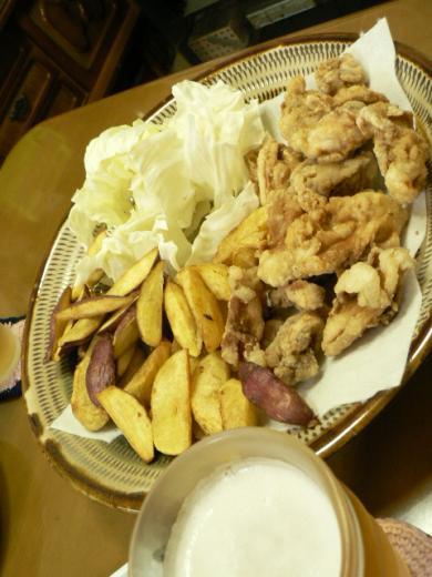 2010年8月27日夕食