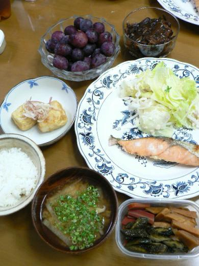 2010年8月29日夕食
