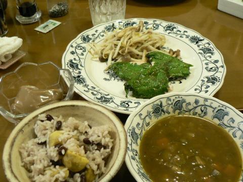 2010年8月30日夕食