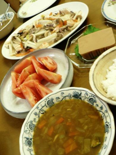 2010年9月2日夕食