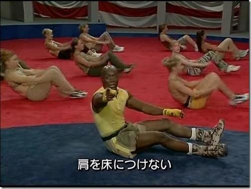 (エクササイズ)BILLY'S BOOTCAMP③ 腹筋プログラム.avi_001729094