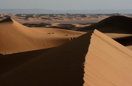 サハラ 砂丘2