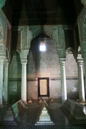 saadian tomb