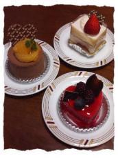 バレンタイン ケーキ