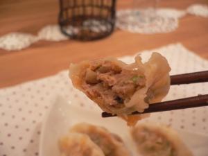 キムチ餃子