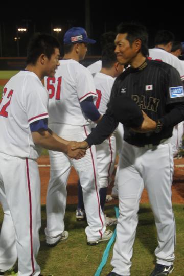 感動広げる日台野球―再び侍ジャ...