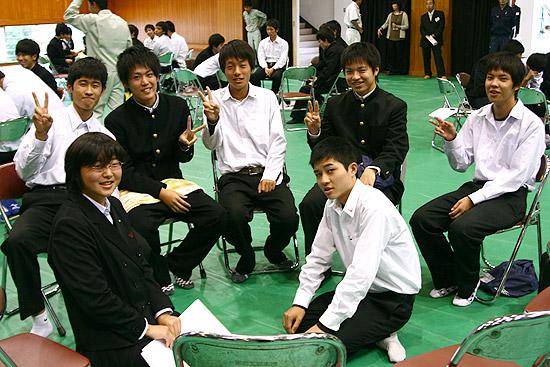 工業高校企業参観日