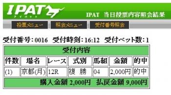 1013京都12R
