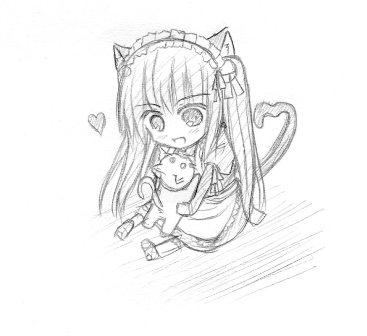 ちびキャラ 猫耳