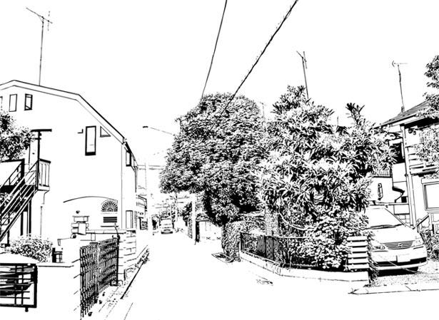 漫画背景地元02
