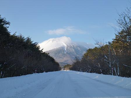 雪積もりの焼走り02(2012.2.2)