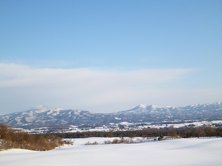 雪積もりの焼走り03(2012.2.2)