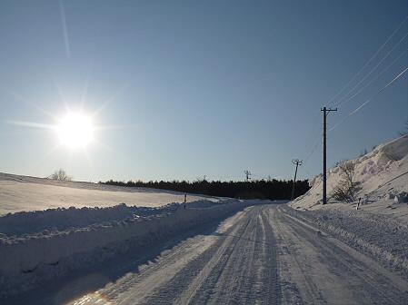 雪積もりの焼走り04(2012.2.2)