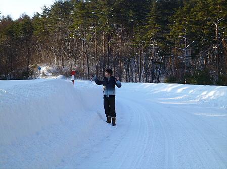 雪積もりの焼走り06(2012.2.2)