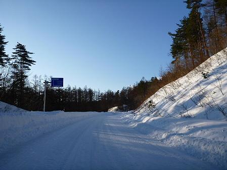 雪積もりの焼走り07(2012.2.2)