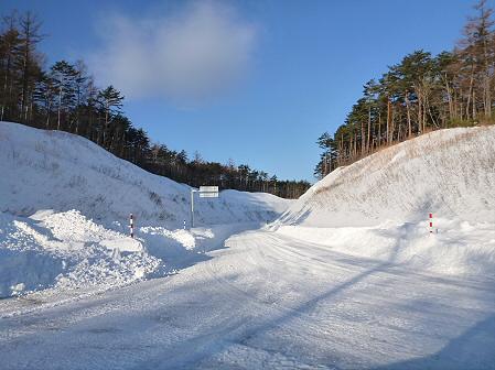 雪積もりの焼走り08(2012.2.2)