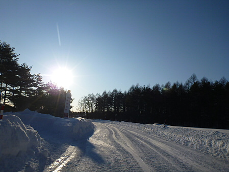 雪積もりの焼走り09(2012.2.2)