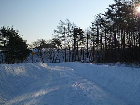 雪積もりの焼走り10(2012.2.2)