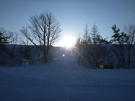 雪積もりの焼走り11(2012.2.2)