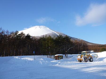 雪積もりの焼走り12(2012.2.2)