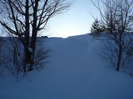 雪積もりの焼走り13(2012.2.2)