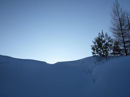 雪積もりの焼走り14(2012.2.2)