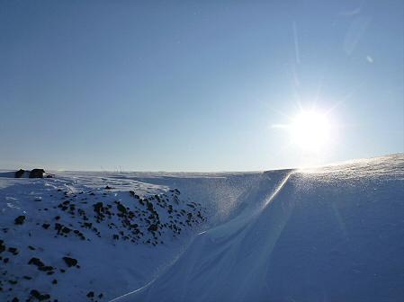 雪積もりの焼走り18(2012.2.2)