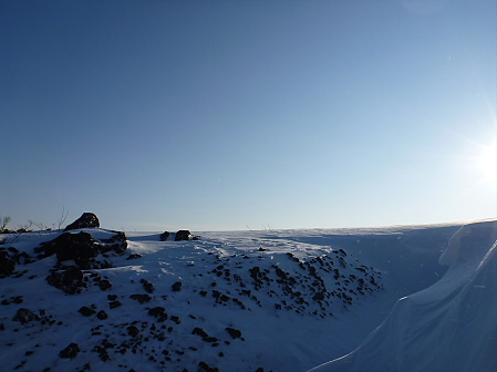 雪積もりの焼走り19(2012.2.2)