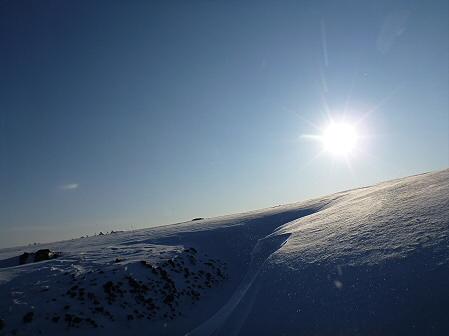 雪積もりの焼走り20(2012.2.2)