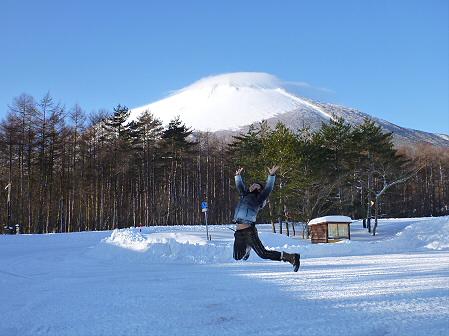 雪積もりの焼走り22(2012.2.2)