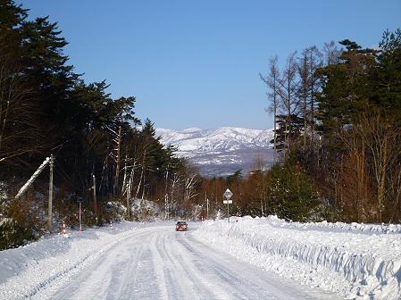 雪積もりの焼走り23(2012.2.2)