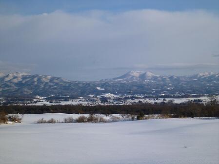 雪積もりの焼走り25(2012.2.2)