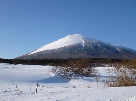 雪積もりの焼走り26(2012.2.2)