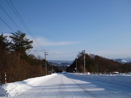 雪積もりの焼走り27(2012.2.2)