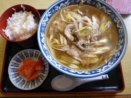 鶏正油ラーメン04(2012.2.3)