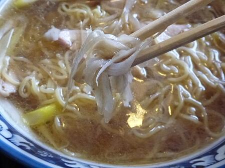鶏正油ラーメン06(2012.2.3)