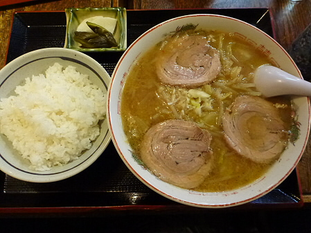 食事処佐和07(2012.2.7)味噌ラーメン