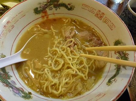 味処佐和13(2012.2.7)味噌ラーメン