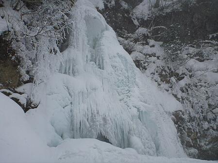 七滝氷瀑比較02(2012.2.12)