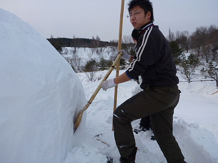 八幡平・安比ゆきフェスティバル準備様子11(2012.2.14)