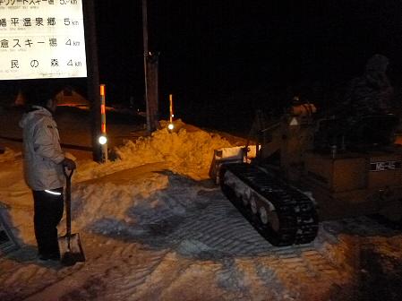 八幡平・安比ゆきフェスティバル準備様子19(2012.2.14)