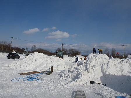 八幡平・安比ゆきフェスティバル準備様子07(2012.2.16)