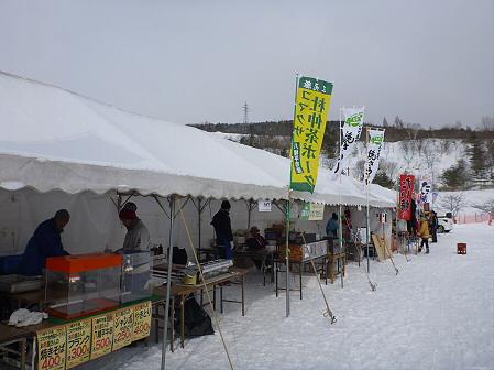 八幡平・安比ゆきフェスティバル準備様子07(2012.2.18)