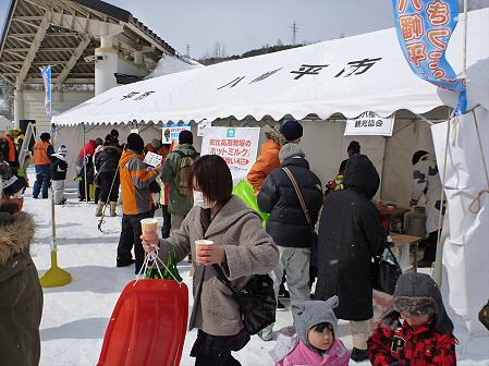 八幡平・安比ゆきフェスティバルの様子40(2012.2.18)