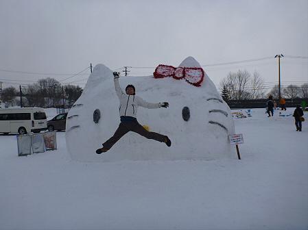 八幡平・安比ゆきフェスティバルの様子43(2012.2.18)